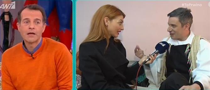 """Δημήτρης Μαχαίρας: για όλους είμαι ακόμη ο """"Διονυσάκης"""" (βίντεο)"""