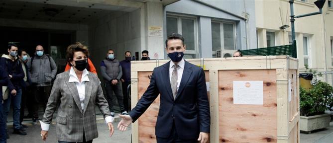 Η MYTILINEOS συνδράμει στο έργο των ελληνικών νοσοκομείων