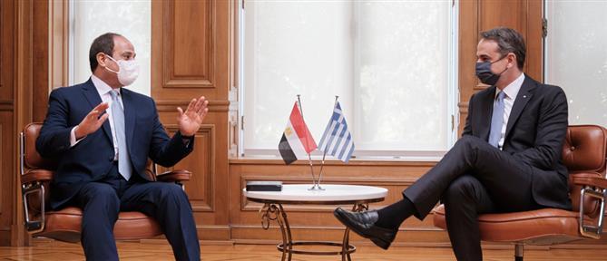 Μητσοτάκης: Στην Αίγυπτο ο Πρωθυπουργός