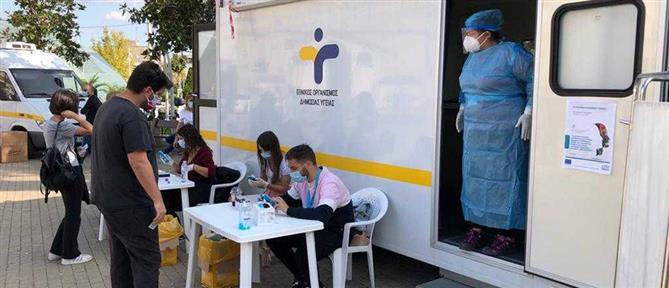 Κορονοϊός: δεκάδες κρούσματα σε rapid τεστ στο Περιστέρι