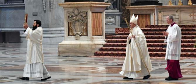 Πάπας Φραγκίσκος: Γιατροί και νοσηλευτές είναι οι Άγιοι της διπλανής πόρτας