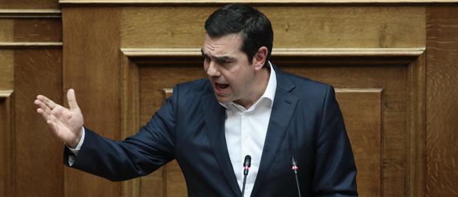 Σφοδρή επίθεση Τσίπρα σε Μητσοτάκη για τους χειρισμούς στα ελληνοτουρκικά