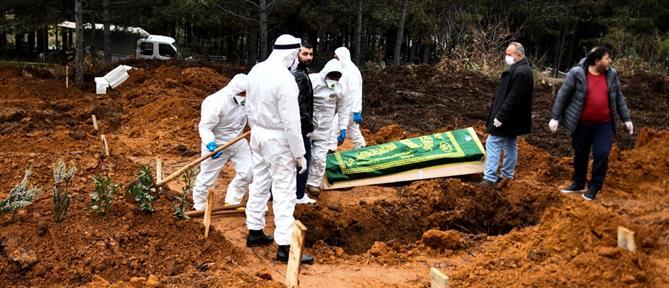 Κορονοϊός - Τουρκία: 76 θάνατοι και 3.892 κρούσματα σε μία ημέρα