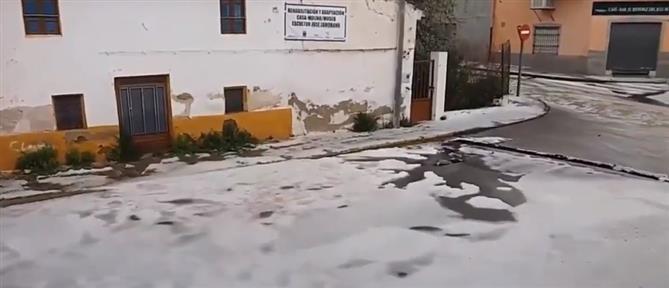Ισπανία: διάσωση γυναίκας από το πλημμυρισμένο σπίτι της (βίντεο)