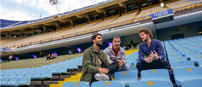 """Το """"Football Stories"""" στην Αργεντινή για το """"Superclasico"""" (εικόνες)"""