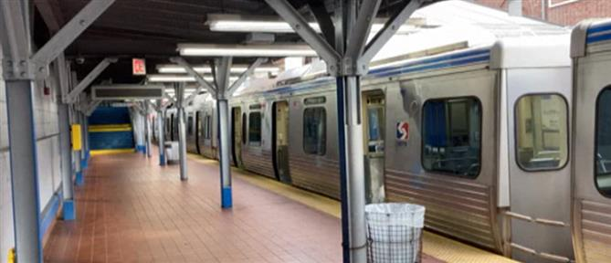 Φιλαδέλφεια: γυναίκα βιαζόταν στο μετρό κι οι επιβάτες τραβούσαν βίντεο (βίντεο)