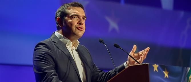 Τσίπρας: ο νόμος περί ευθύνης Υπουργών θα οδηγήσει σε παραγραφή της υπόθεσης Novartis