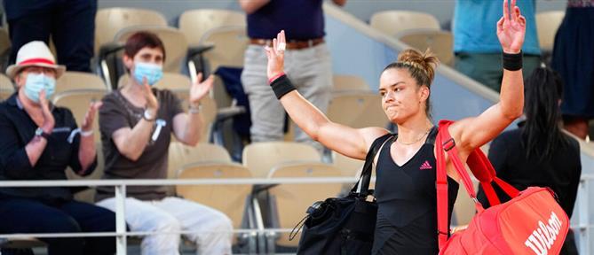 Roland Garros – Σάκκαρη: αγχώθηκα στον έναν πόντο από τον τελικό