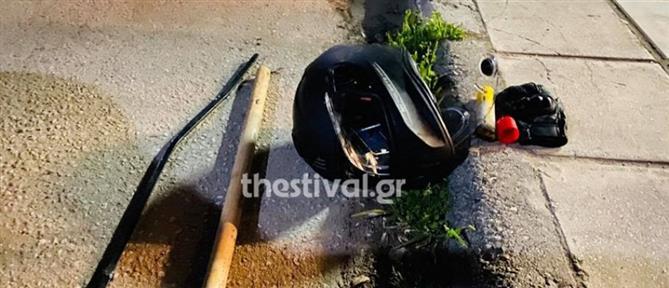 Άγρια οπαδική επίθεση με ρόπαλα και σιδερολοστούς σε οδηγό