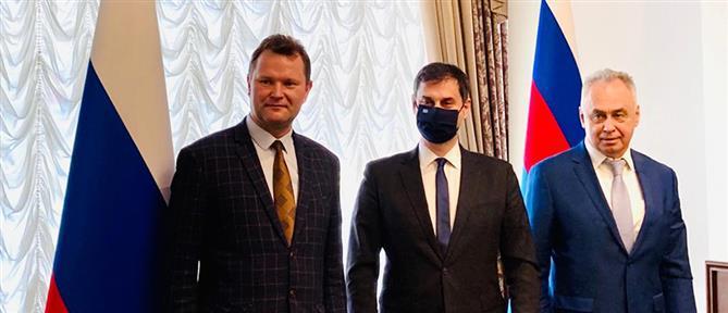 Θεοχάρης: Εξαιρετικά εποικοδομητική η επίσκεψη στη Μόσχα