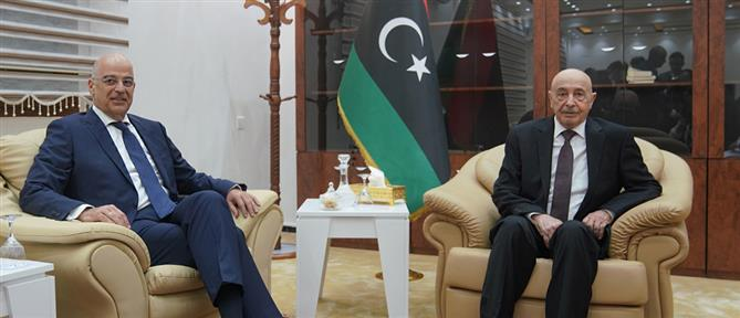 Δένδιας από Λιβύη: Ιστορικές οι ευθύνες της Τουρκίας