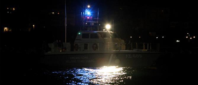 Λέσβος - Κακοκαιρία: Ώρες αγωνίας για επιβαίνοντες σε αλιευτικό σκάφος