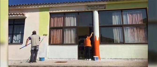 """Πέπλος Έβρου: η δασκάλα """"μεταμόρφωσε"""" το νηπιαγωγείο (βίντεο)"""