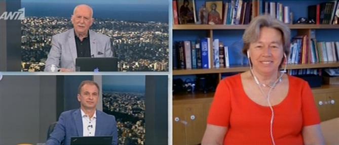 """Λινού για την """"αθηναϊκή"""" μετάλλαξη: δεν ξέρουμε αν καλύπτεται από τα εμβόλια (βίντεο)"""