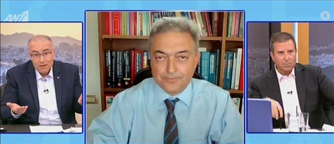 Βασιλακόπουλος για κορονοϊό στον ΑΝΤ1: να επιτραπούν οι μετακινήσεις για το Πάσχα (βίντεο)