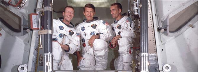 """Apollo 7: η πρώτη επανδρωμένη πτήση του προγράμματος """"Απόλλων"""""""