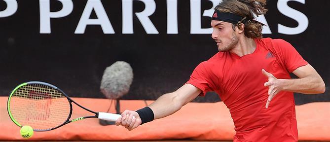 """Italian Open: ο Τσιτσιπάς στους """"8"""""""
