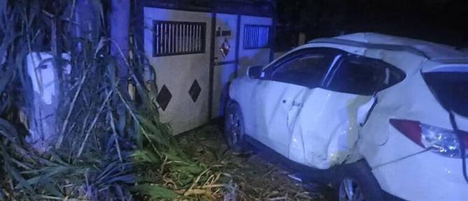 Ηράκλειο: Τροχαίο με 4 τραυματίες, ένας σε κρίσιμη κατάσταση (εικόνες)