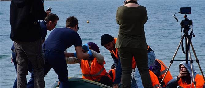 """""""Απόβαση προσφύγων"""" στο Ναύπλιο! (εικόνες)"""