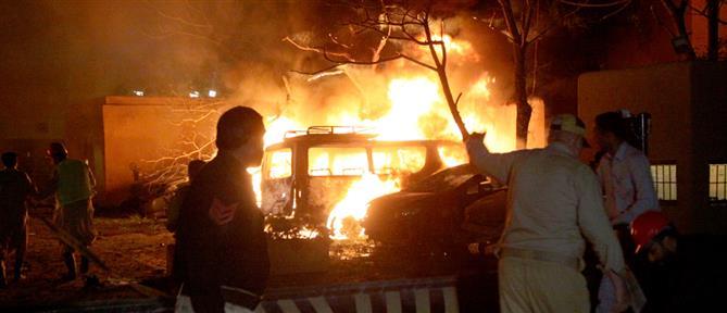 Πακιστάν: Βομβιστική επίθεση σε πολυτελές ξενοδοχείο (βίντεο)