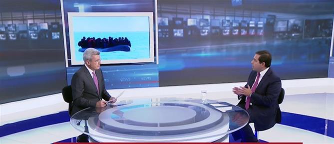 Μηταράκης στον ΑΝΤ1: το Μεταναστευτικό είναι θέμα εθνικής Ασφάλειας (βίντεο)