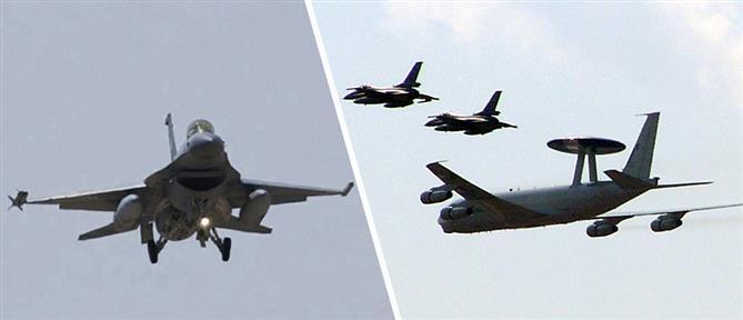 """""""Αερομαχίες"""" με οπλισμένα μαχητικά στο Αιγαίο"""