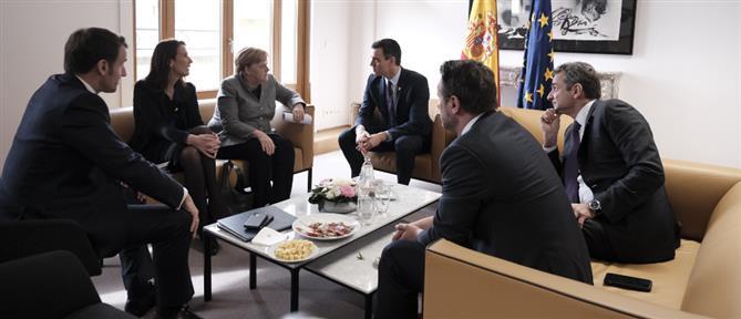 Κρίσιμές επαφές Μητσοτάκη στις Βρυξέλλες