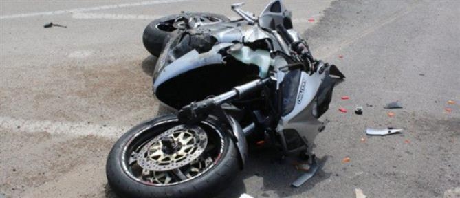 Νεκρός 21χρονος σε φρικτό τροχαίο με μοτοσικλέτα (εικόνα)