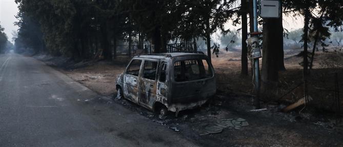 Φωτιά στη Βαρυμπόμπη – Ρεύμα: βελτιωμένη εικόνα στο δίκτυο ηλεκτροδότησης