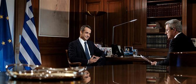 """Μητσοτάκης στον ΑΝΤ1: η Τουρκία δίνει """"οξυγόνο"""" στον ISIS και στην ακραία τρομοκρατία"""