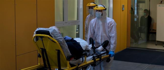Κορονοϊός: αυξήθηκε ο ημερήσιος αριθμός θανάτων στην Ισπανία