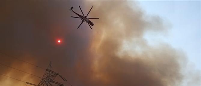 Φωτιά στη Ρόδο: Εκκενώθηκε το χωριό Μαριτσά