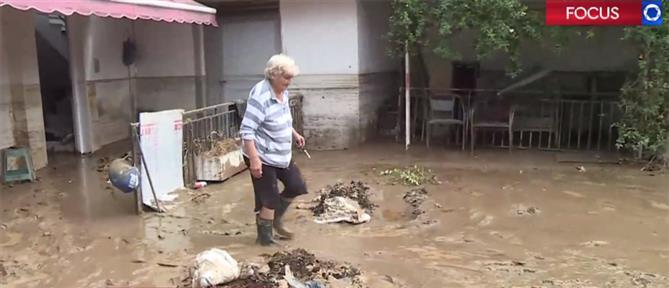"""""""Χείμαρρος"""" αγανάκτησης στην Ευκαρπία για το μπαζωμένο ρέμα (βίντεο)"""