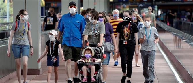 """Τραμπ: Οι ΗΠΑ έχουν """"σε μεγάλο βαθμό"""" ξεπεράσει την πανδημία"""