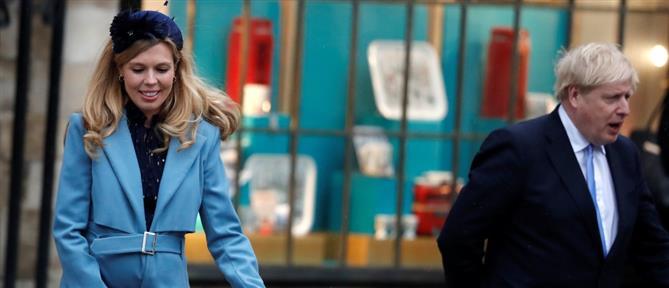Κορονοϊός: Ανησυχία για την έγκυο μνηστή του Μπόρις Τζόνσον