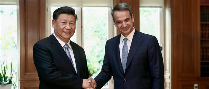 Μητσοτάκης - Σι Τζινπίνγκ: Ελλάδα και Κίνα θα έχουν πολλαπλά οφέλη από την συνεργασία τους