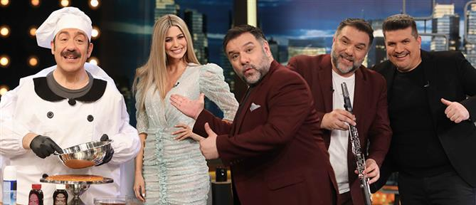 """The 2night Show"": Αποκαλυπτικοί καλεσμένοι και πολύ γέλιο την Πέμπτη (εικόνες)"