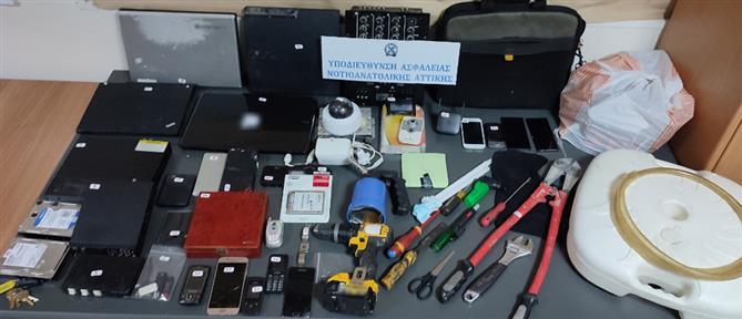 Διαρρήξεις στην Αττική: Συνελήφθησαν δύο άτομα (εικόνες)