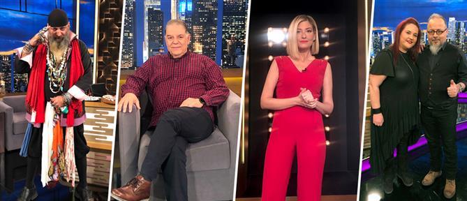 """The 2night Show"" με έναν ηθοποιό, μια anchorwoman και έναν... πειρατή"