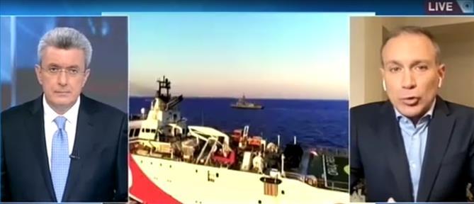 """Φίλης στον ΑΝΤ1: τι σημαίνει η """"πορτοκαλί κάρτα"""" της ΕΕ στην Τουρκία (βίντεο)"""