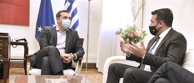 Τσίπρας - Ζάεφ: η Συμφωνία των Πρεσπών άλλαξε τα Βαλκάνια