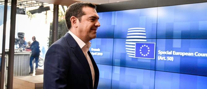Στις Βρυξέλλες ο Αλέξης Τσίπρας για τη Σύνοδο Κορυφής της Ευρωζώνης