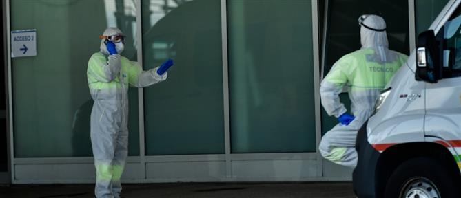 Ισπανία: Χειροκροτήματα για ασθενή με κορονοϊό που βγήκε από τη ΜΕΘ (βίντεο)