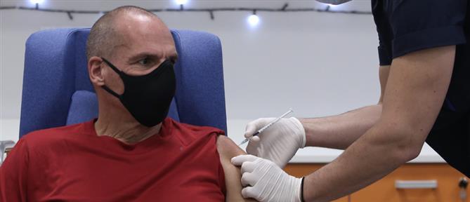 Εμβολιασμός – Βαρουφάκης: τρίτη δόση για τον ΓΓ του ΜέΡΑ25
