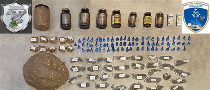 Μύκονος: σύλληψη μέλους κυκλώματος που διακινούσε μεγάλες ποσότητες ναρκωτικών (εικόνες)