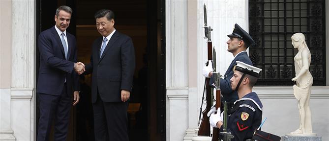 Η Κοινή Διακήρυξη που υπέγραψαν Μητσοτάκης και Σι Τζινπίνγκ
