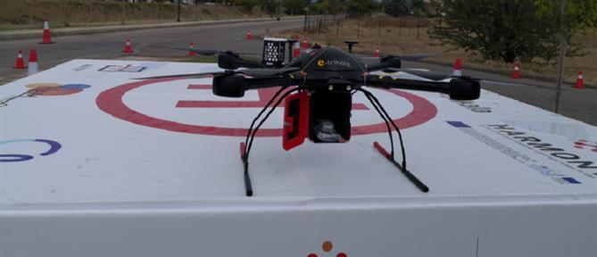 Τρίκαλα: άρχισε η μεταφορά φαρμάκων με drone (εικόνες)