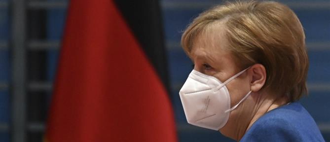 Εμβόλιο AstraZeneca: Η Μέρκελ έκανε την πρώτη δόση (εικόνες)