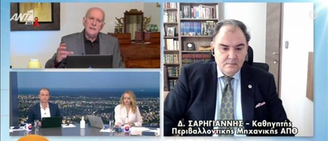 Κορονοϊός - Σαρηγιάννης στον ΑΝΤ1: μετά τις 20 Δεκεμβρίου θα δούμε βελτίωση (βίντεο)