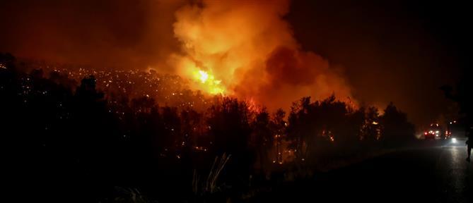 Φωτιά στα Άγναντα